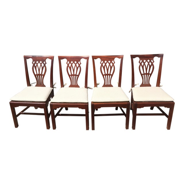 Baker Furniture Dining Chairs - Set of 4 - Image 1 of 6