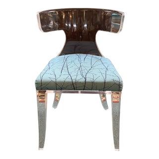 Hstudio Designs Verona Lucite Accent Chair For Sale