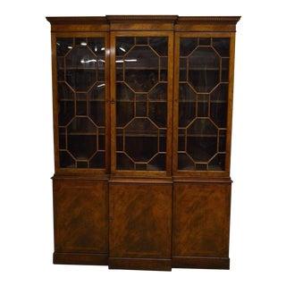 Baker Mahogany Inlaid Bookcase