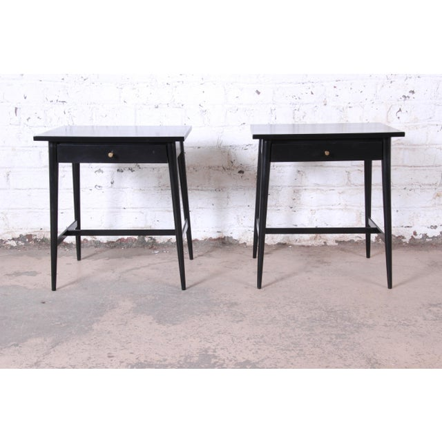 Paul McCobb Planner Group Nightstands or End Tables - a Pair For Sale - Image 12 of 12