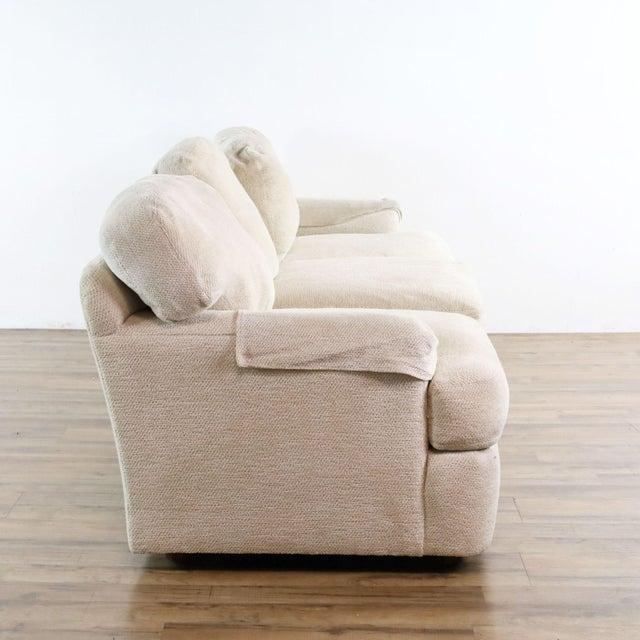 2010s Henredon Upholstered Ivory Sofa For Sale - Image 5 of 11