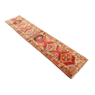 Vintage Oversized Oushak Runner Rug For Sale