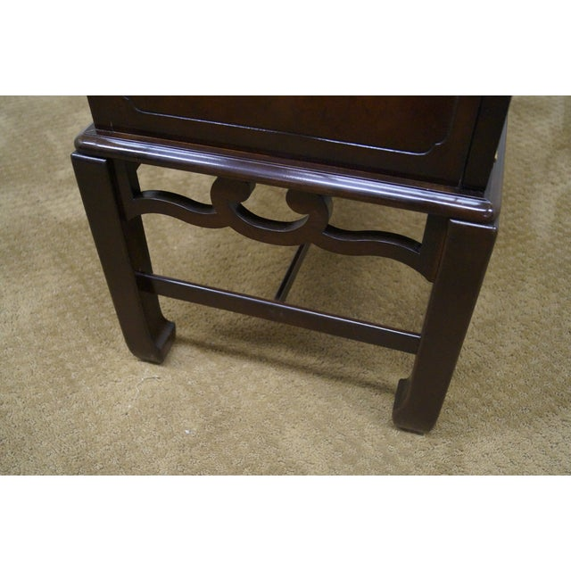 Asian Style Chest on Frame End Table - Image 8 of 10