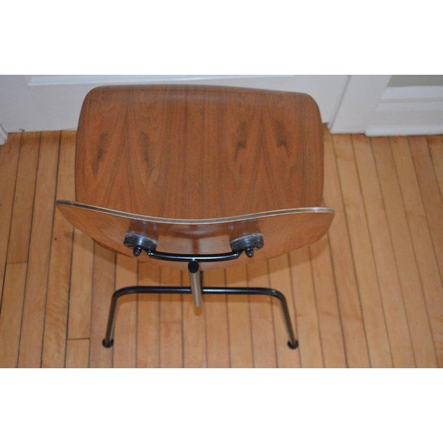 Brown Dozens of Herman Miller Eames 1950s Walnut Dining Room Chair With New Hm Frames For Sale - Image 8 of 11