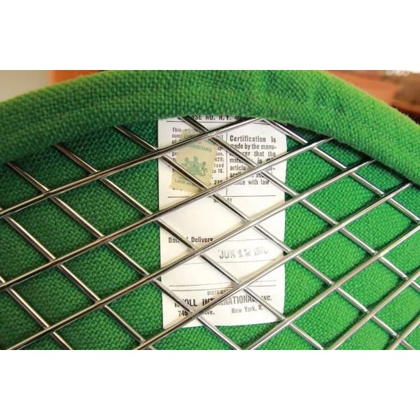 Green Green Diamond Chair by Harry Bertoia for Knoll For Sale - Image 8 of 8