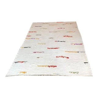Turkish Hemp Rug - 7′ × 10′3″ For Sale