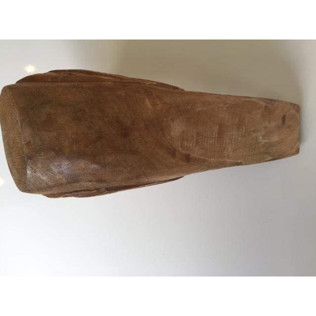 Wood Carved Bird Figurine - Image 8 of 9