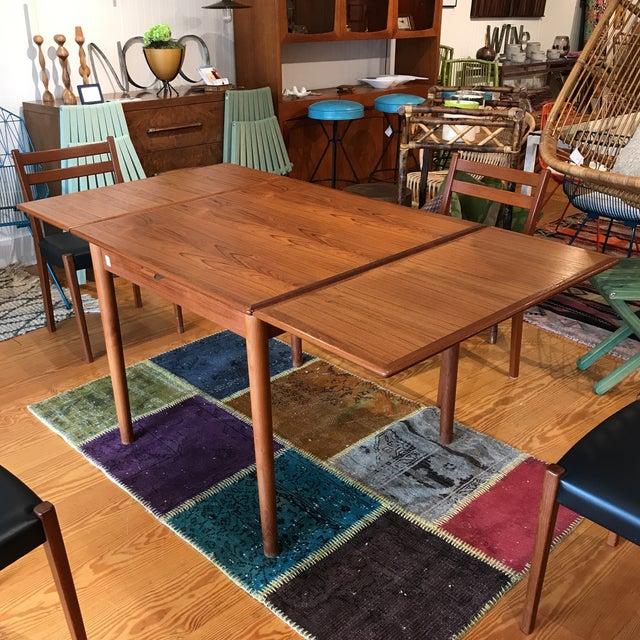 Am Mobler Danish Teak Expandable Table - Image 2 of 10
