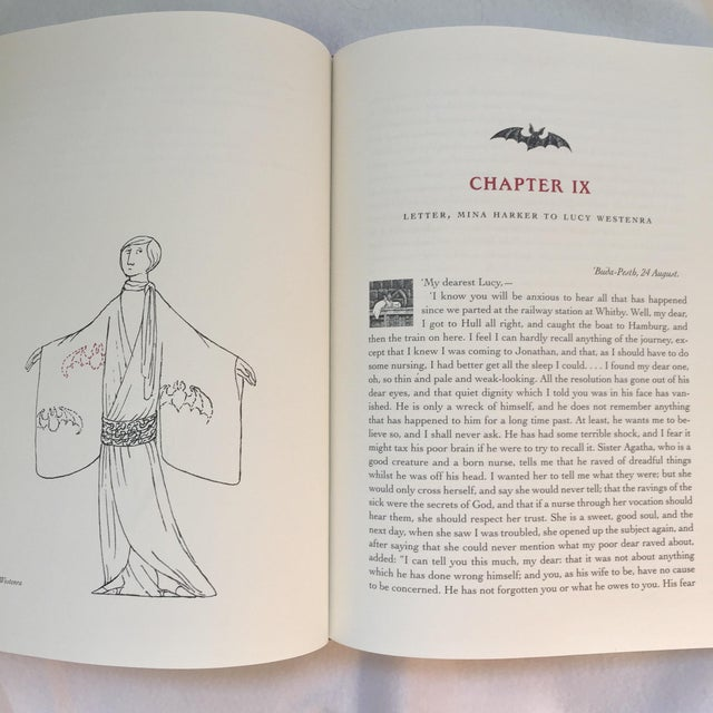 Dracula Book Collector's Edition Illustrated by Edward Gorey For Sale In New York - Image 6 of 6