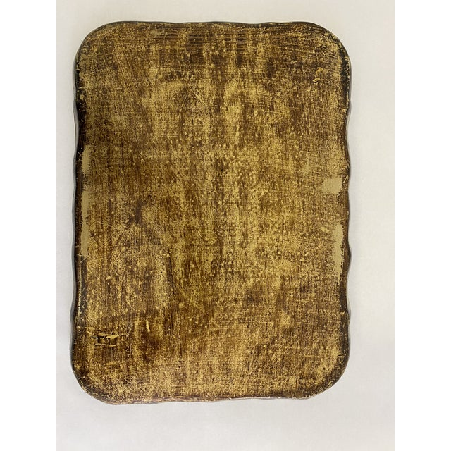 1960s Vintage 1960s Italian Florentine Tray For Sale - Image 5 of 8