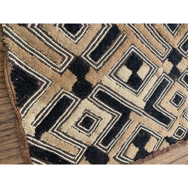 African Kuba Cloth For Sale - Image 4 of 5