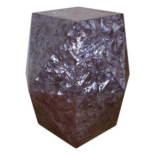 Tavola by Oggetti Tessellated Side Table For Sale