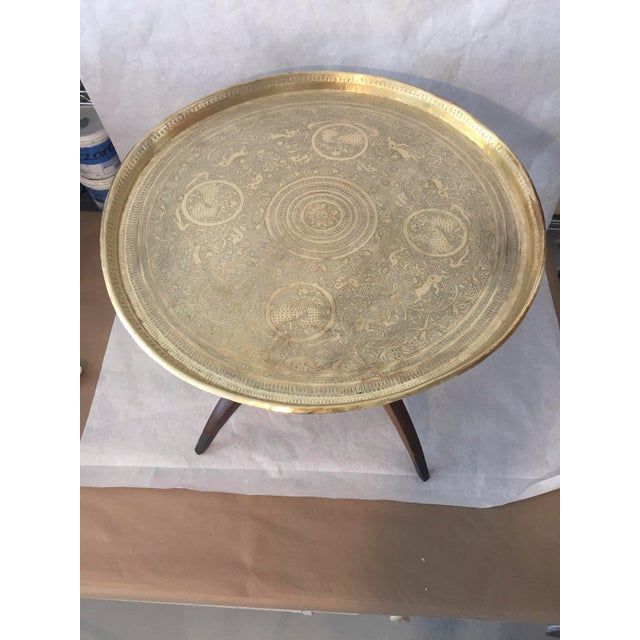Islamic Mid Century Moorish Side Table For Sale - Image 3 of 10