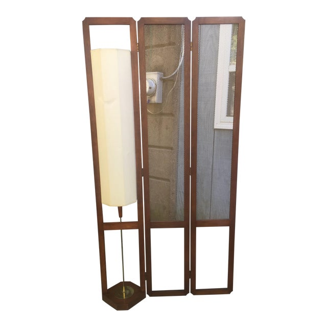 Mid Century Room Divider >> Mid Century Room Divider And Lamp