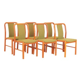 1960s Vintage Danish Teak Dining Chairs - Set of 6 For Sale