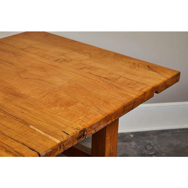 Wood Rare 19th Century Solid Molave Wood Table For Sale - Image 7 of 10