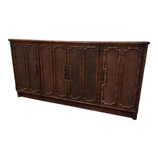 1970's Faux Bamboo Sideboard