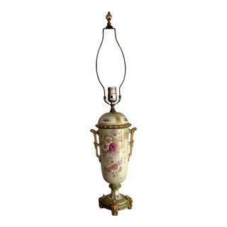 1900s Royal Bonn Lamp For Sale