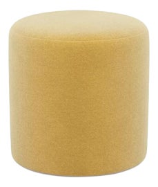 Image of Yellow Ottomans and Footstools