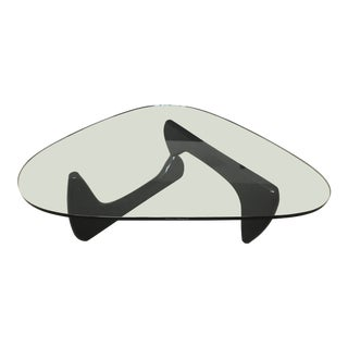 Mid-Century Modern Isamu Noguchi for Herman Miller Glass Coffee Table For Sale