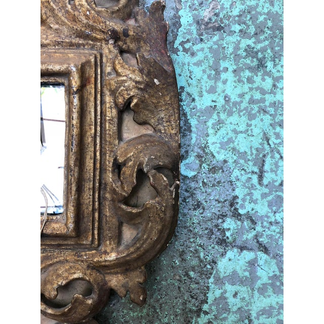 18th Century Small Italian Mirror For Sale - Image 12 of 13