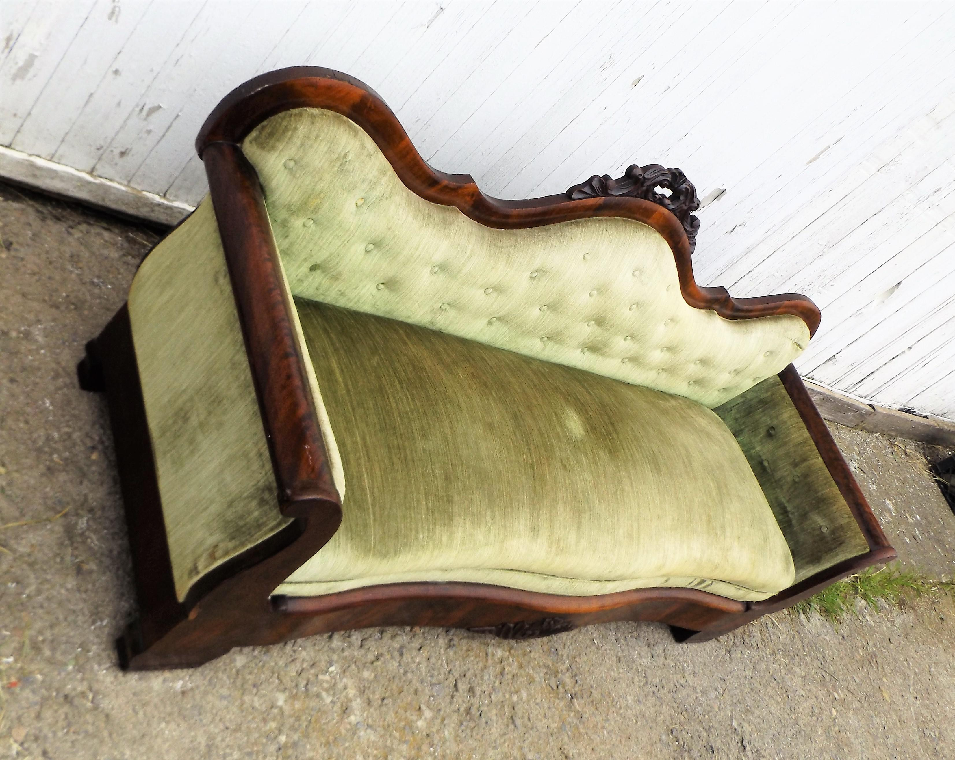 Antique American Empire Sofa Chairish