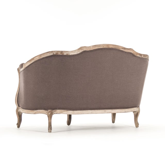 Hollow Maison Settee in Aubergine For Sale In Atlanta - Image 6 of 10