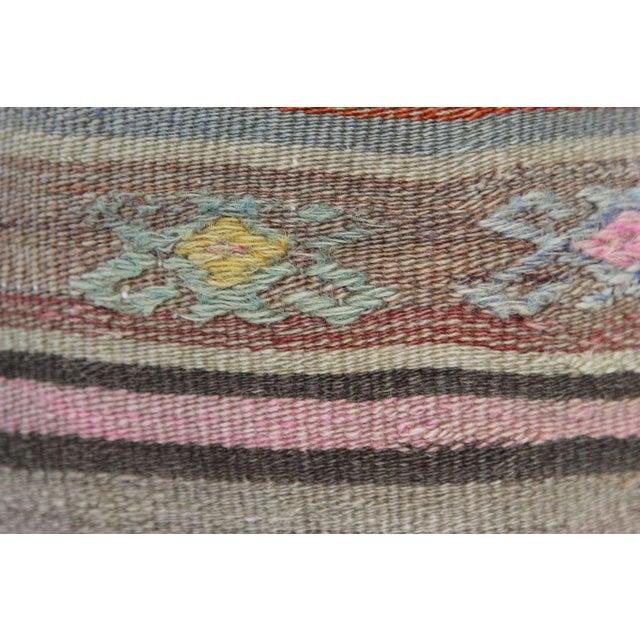 Turkish Handmade Kilim Pillowcase - Image 4 of 5