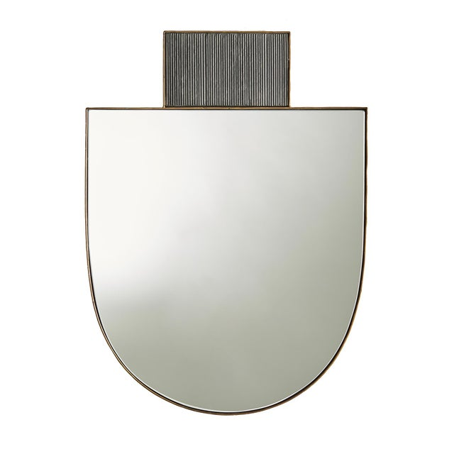 Glass Arteriors Lianna Wall Mirror For Sale - Image 7 of 7