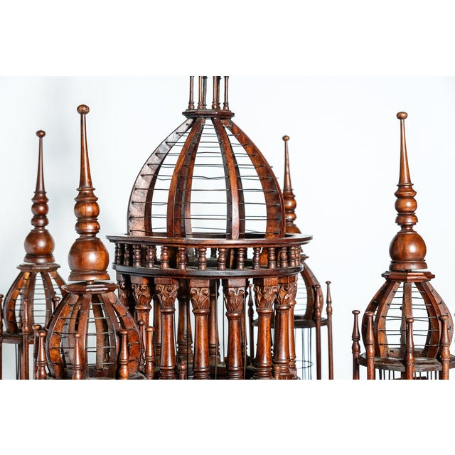 Architectural Bird Cage For Sale - Image 9 of 12