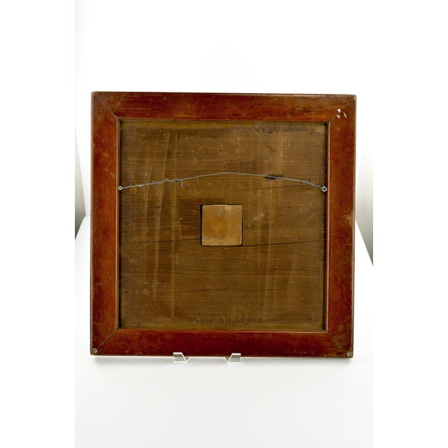 Antique 19th C. Inlaid Wooden Game Board - Image 7 of 9