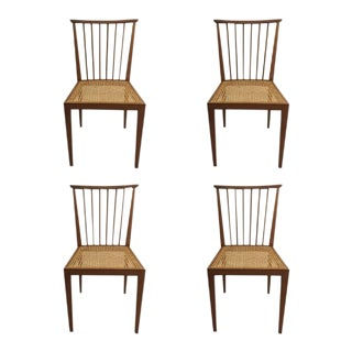 Mid-Century Dining Chairs from Hagenauer Wien - Set of 4 For Sale