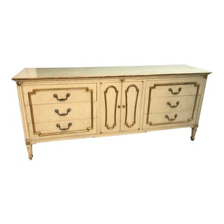 John Widdicomb Provincial Dresser With Gold Inlay For Sale