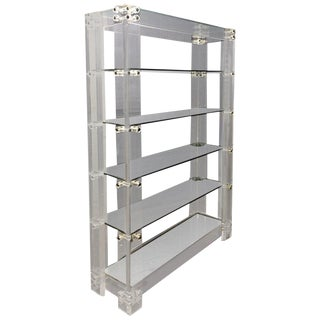 Lucite Etagere For Sale