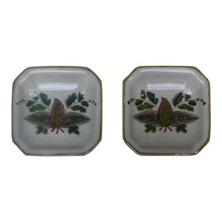 Quality Asian Artist Hand Painted Porcelain Display Square Dish vs075-2E For Sale