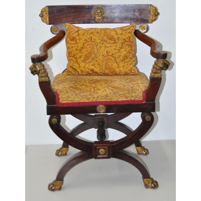 18th C. French Carved & Gilded Chair - Image 6 of 10