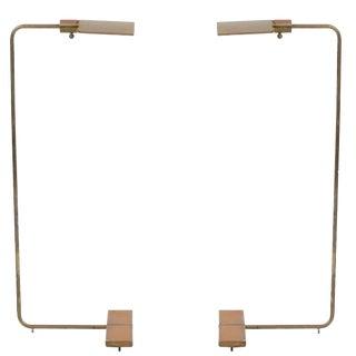 1960s Bronze Cedric Hartman Floor Lamp For Sale