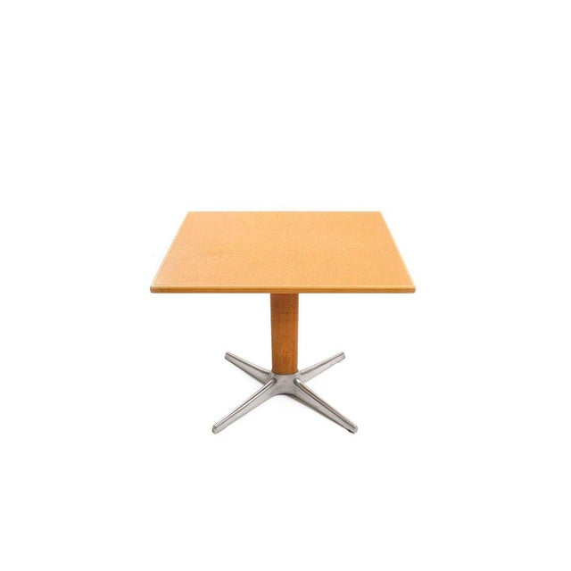 Brown Occasional Table by Oswald Haerdtl For Sale - Image 8 of 8