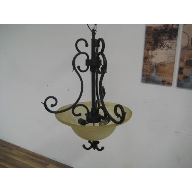 Oil Rubbed Bronze Dome Chandelier - Image 5 of 8