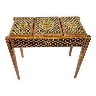 Antique Flip Top Vanity Table