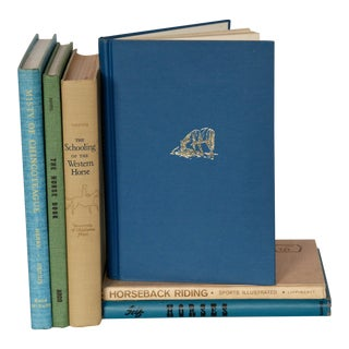 Vintage Horse Books - Set of 6