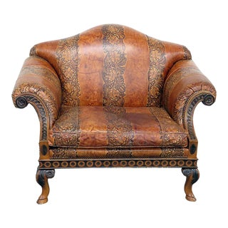 Vintage Stanford Oversized Armchair For Sale