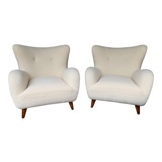 1950s Italian Armchairs by Melchiorre Bega - a Pair For Sale
