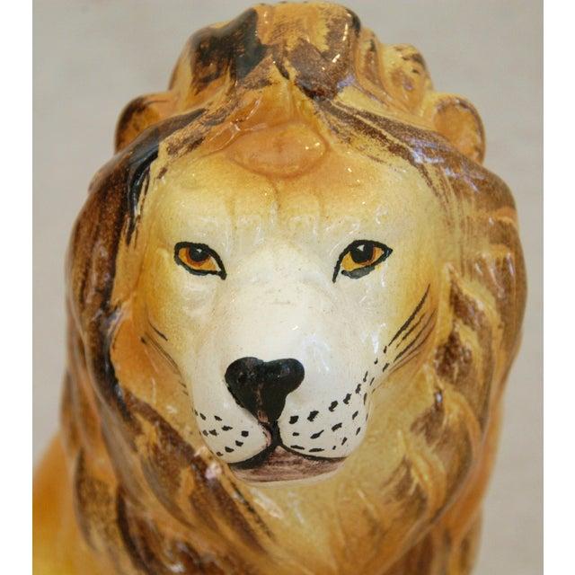 Mid-Century Italian Safari Lion - Image 8 of 8