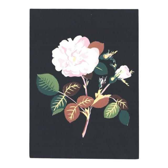 1980s Floral Still Life Botanical Serigraph For Sale
