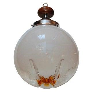 Mazzega Light Fixture For Sale