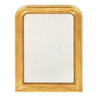Small Gold Antique Louis Philippe Mirror For Sale