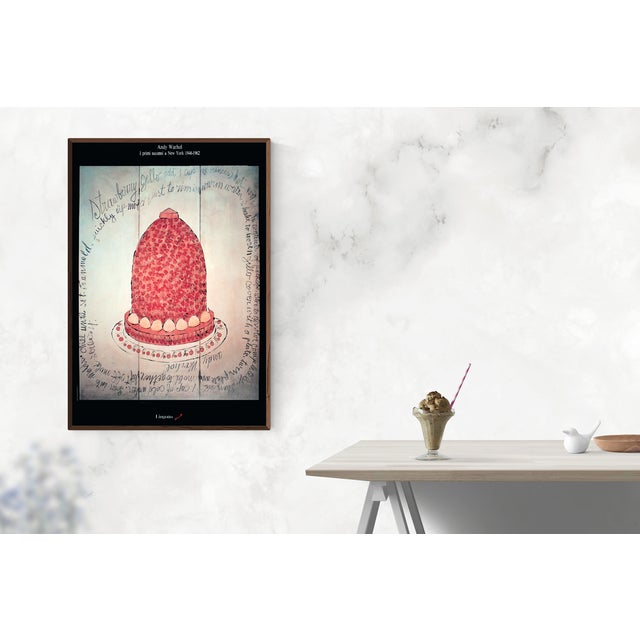 Andy Warhol- Strawberry Jello Poster