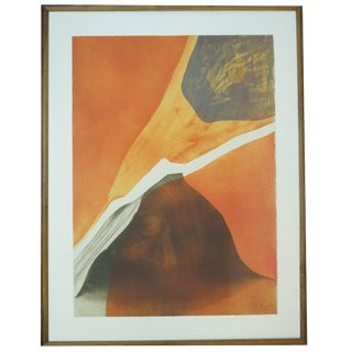 """Gilou Brillant Etching """"Mention Inotile"""" For Sale"""