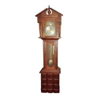 Vintage German Grandfather Clock For Sale